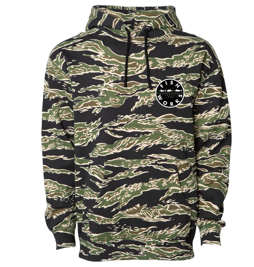 New Original Hooded Fleece - Tiger Camo