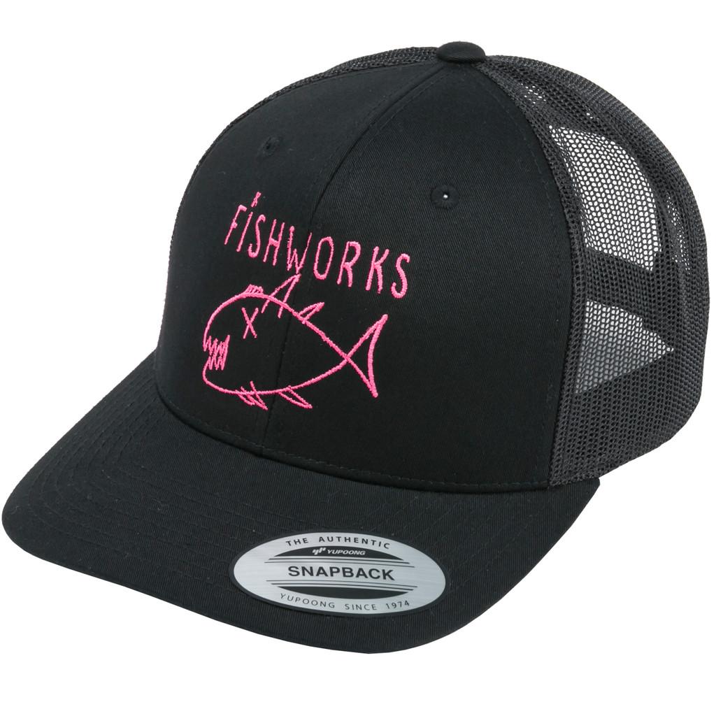 Flipper Snapback Trucker - Black & Pink