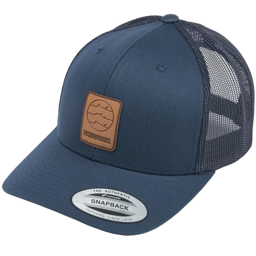 Wrangler Snapback Trucker - Navy