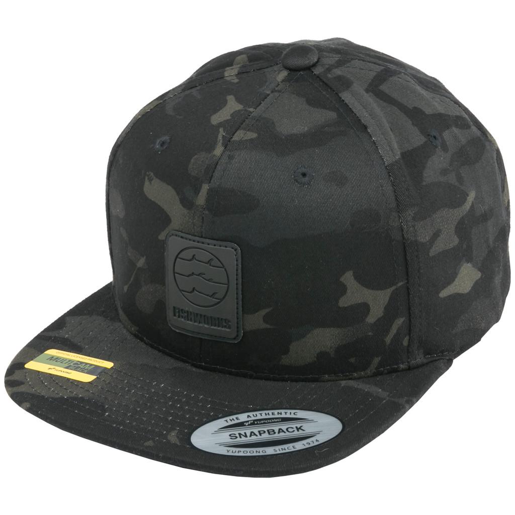 Wrangler Snapback - Black Multi-Camo