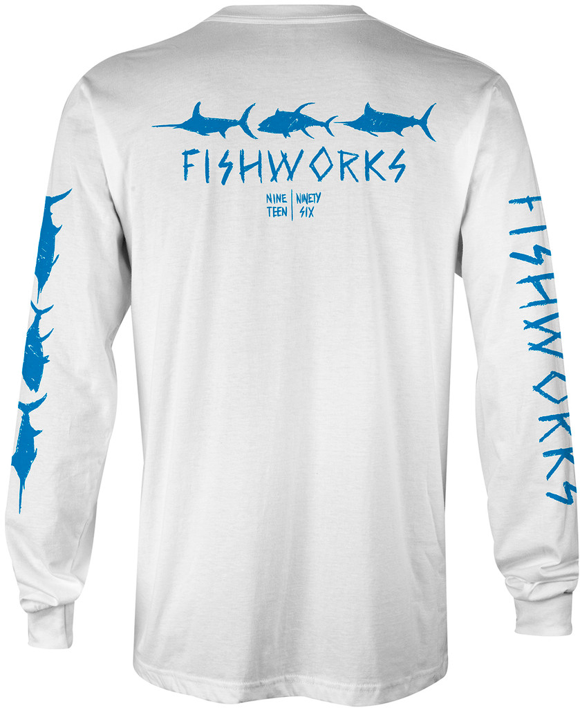 Sketchy Long Sleeve - White