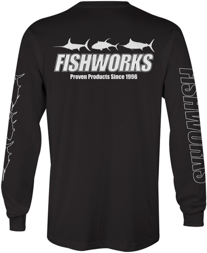 3 Fish Long Sleeve - Black