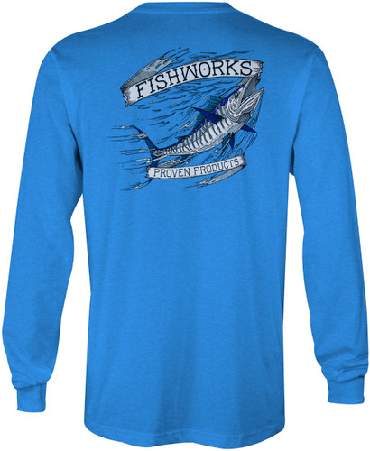 Wahoo Long Sleeve - Royal Heather