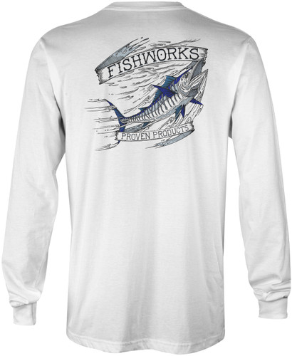Wahoo Long Sleeve - White