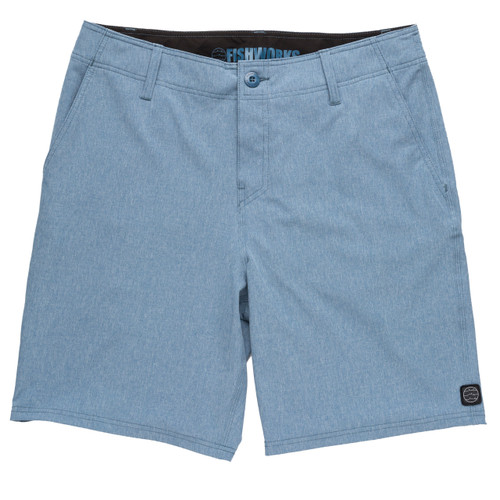 "Stretch Clipperton 20"" - Navy Heather"