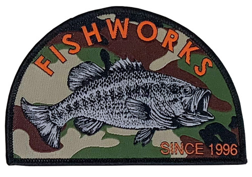 Camo Bass Patch