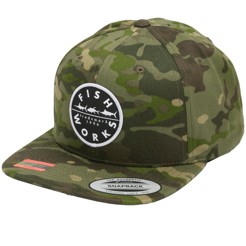 New Original Snapback - Tropic Camo