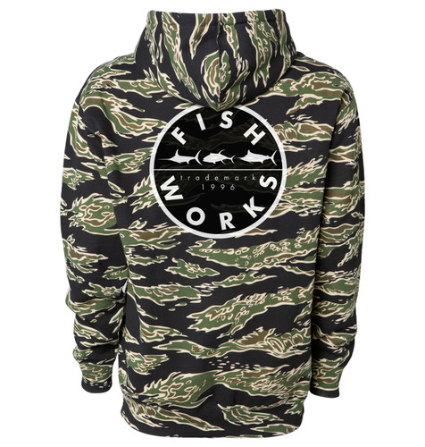 New Original Hooded Fleece - Tiger Camo
