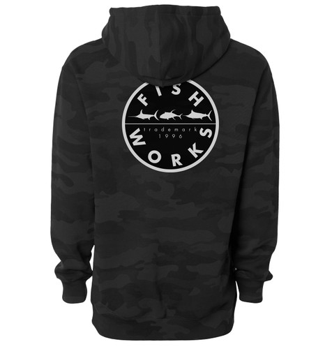 New Original Hooded Fleece - Black Camo