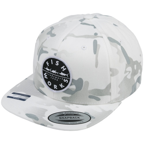 New Original Snapback - Snow Camo