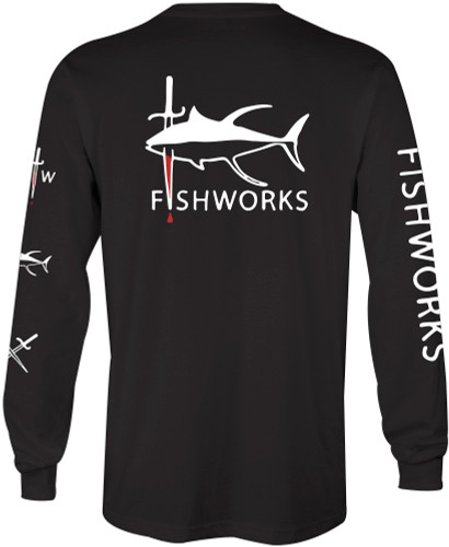 Seared Tuna Long Sleeve - Black