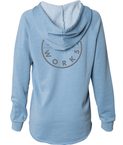 Women New Original Hooded Fleece - Blue