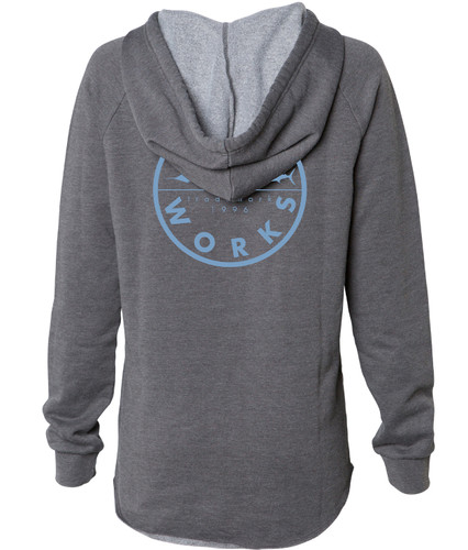 Women's New Original Hooded Fleece - Smoke