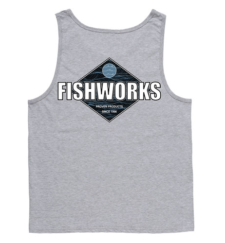 Waves Tank - Grey Heather
