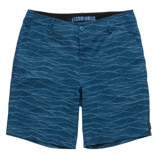 "Stretch Clipperton 20"" - Blue Waves"