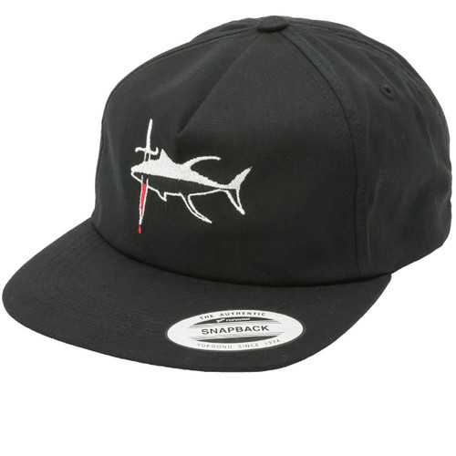 Seared Tuna Hat - Unstructured Black
