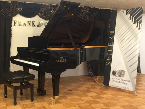 NEW Seiler SE-242 8' Handcrafted German Concert Grand Piano
