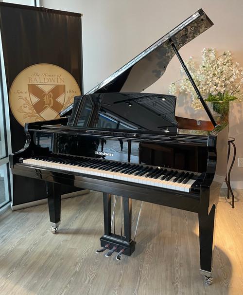 NEW Baldwin BP148 Premium Baby Grand Piano (Nickel Hardware)