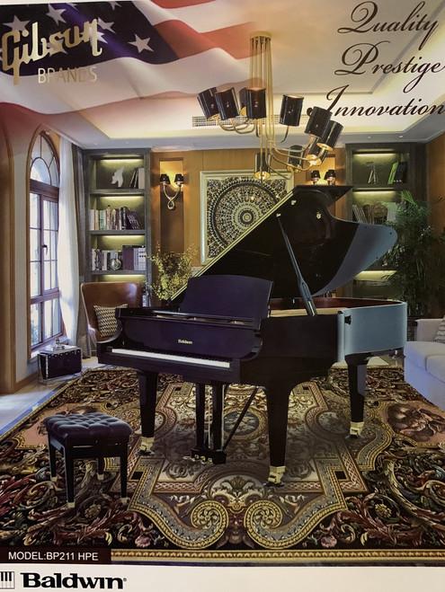 New Baldwin BP211 Premium Semi Concert Grand Piano