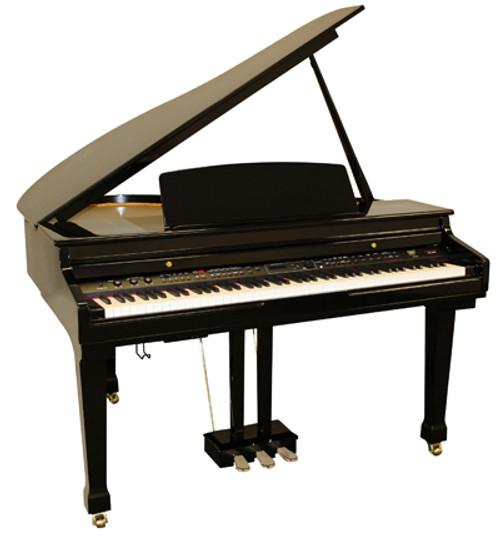 Digital Baby Grand Piano >> New Samick Sg500 Digital Ensemble Baby Grand Piano The Original