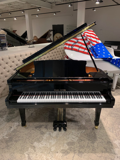 New Pearl River GD150 Premium Player Baby Grand Piano With PianoDisc Prodigy Player System