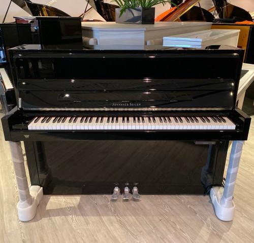 New Johannes Seiler GS-112 Silent Upright Piano