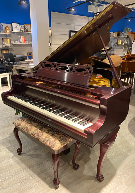 Young Chang G-157 Chippendale Designer Baby Grand Piano