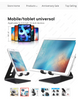Desktop Holder Tablet Stand For ipad 9.7 10.2 10.5 11 inch Rotation Aluminium Tablet Stand secure For Samsung Xiaomi
