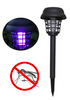 Solar Powered Mosquito Killer Lamp Two Mode UV Mosquito Insect Killer Bug Trap LED Outdoor Garden Lawn Light Mosquito Repellent