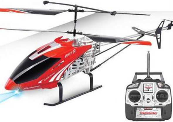 RC Helicopter with Built in Gyroscope and Remote Control - 2017 model