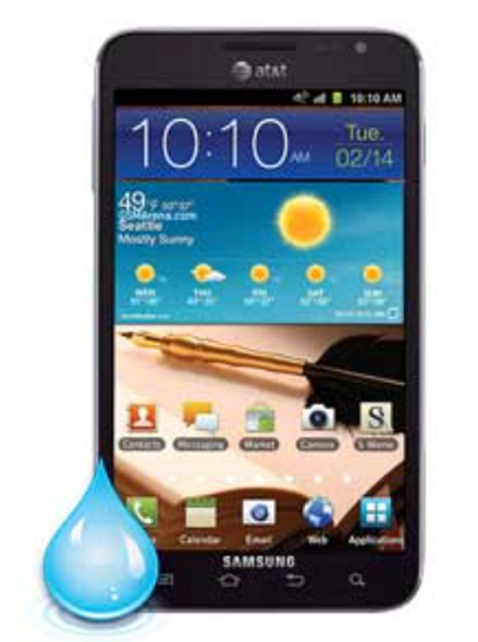 Samsung Galaxy Note 1 Water Damage Repair