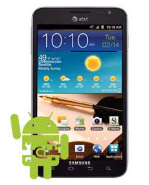 Samsung Galaxy Note 1 Software Repair