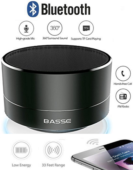 2017 Model - Portable Bluetooth Speaker