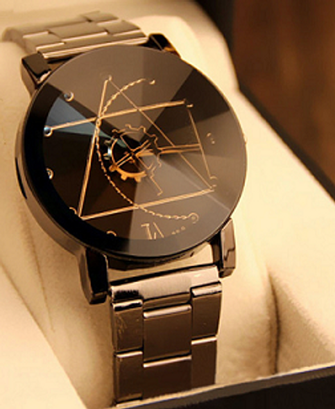 Quartz Relogio Elegant Watch