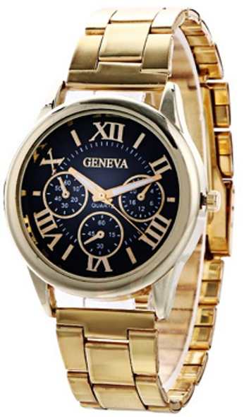 Geneva Black Dial for Women