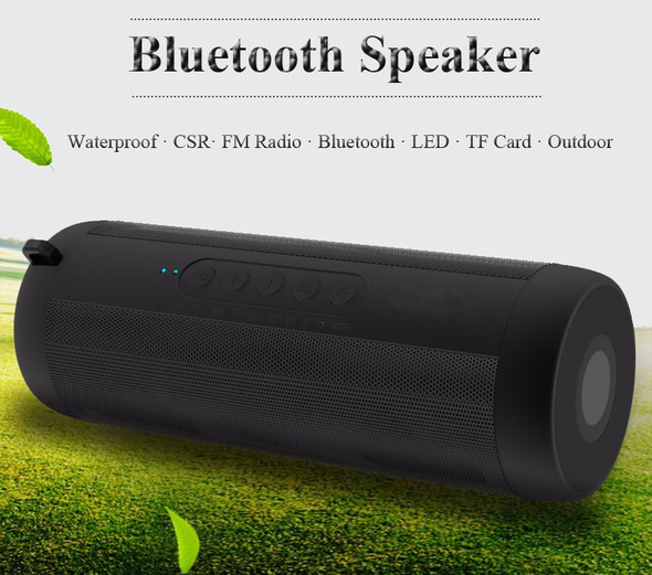 Bolida T2 Waterproof Bluetooth Speaker 6W MP3 player support Aux/FM radio/TF