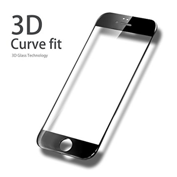 3D Curved Fit Tempered Glass - For iPhone 6/6+ 6S/6S+ 7/7+