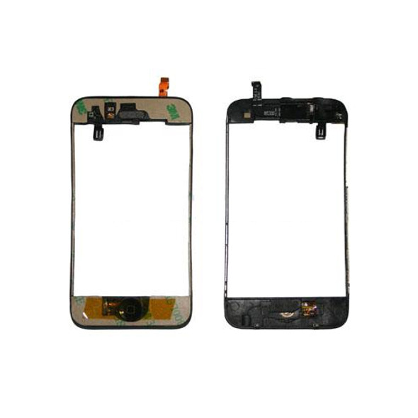 iPhone 3G/s Complete Digitizer Frame With Home Button + Proximity + Earpiece