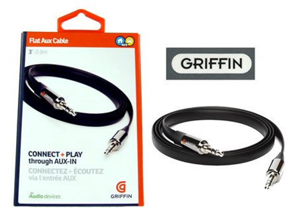 Griffin iPhone iPad iPod Android Auxiliary Audio Cable
