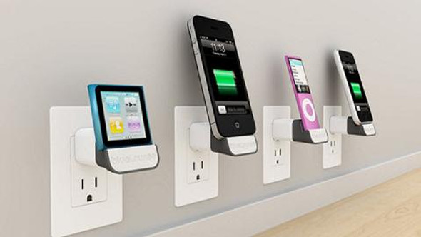 iPhone iPod Wall Charging Dock
