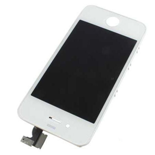 iPhone 4 White Complete LCD Display Assembly