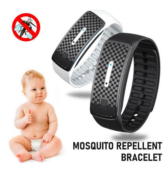 Ultrasonic Mosquito Repellent Wrist Band