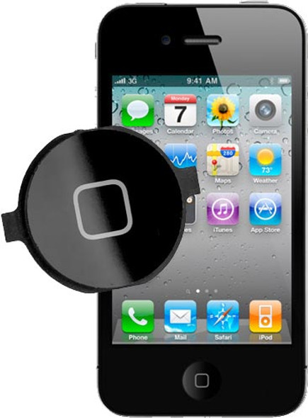 iPhone 3G 3GS 4 4S Home Button Replacement
