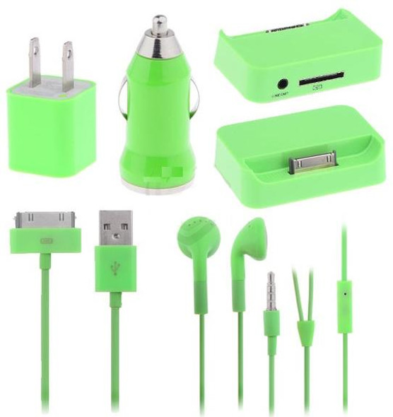5 Piece Power Pack for iPhone or iPod