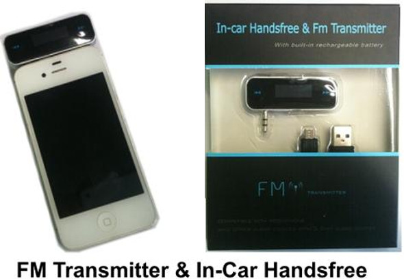In-car Handsfree FM Transmitter