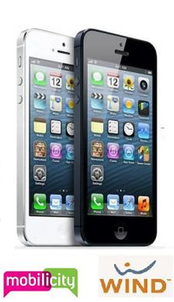 iPhone 5 16GB Unlocked for Wind, Mobilicity or Worldwide