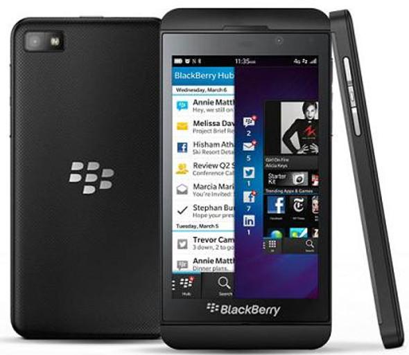 Mint Blackberry Z10