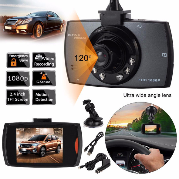 CarCam Full HD 1080P Portable Car Camcorder