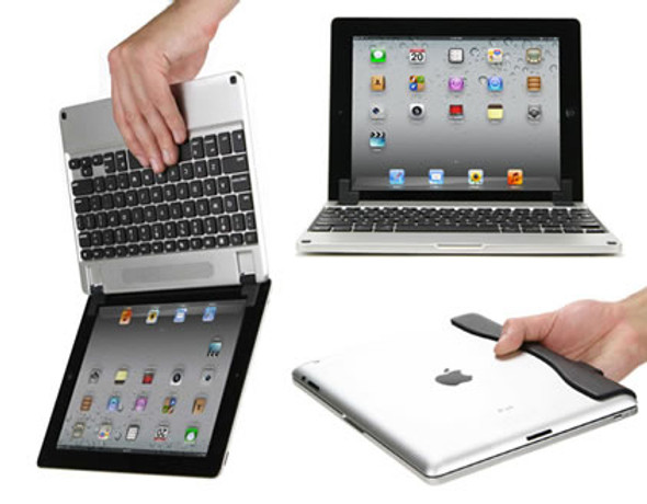 iPad Air, iPad 2,3,4 Bluetooth Macbook Air Keyboard Case