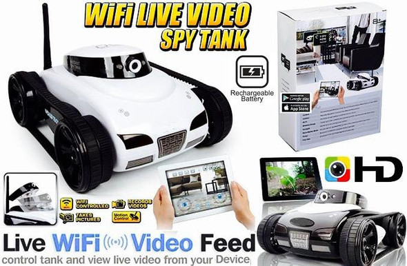 iSpy Mini Remote Controlled Car - With HD Camera